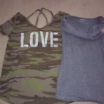 Express Grayson Threads Camo & Studded Tank Shirt Lot Women's Size Xs/s Photo