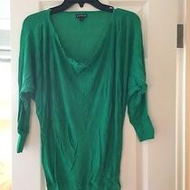 Express Green Shirt Size Small Photo
