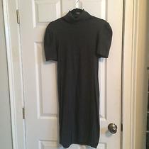 Express Grey Short Sleeve Sweater Dress Size M Photo