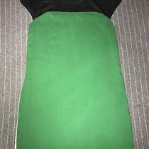 Express Gucci Green Color Block Dress Size Xs Photo