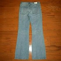 Express - High Rise Boot Cut Stretch Blue Jeans - Women Size 10 R - Perfect Photo
