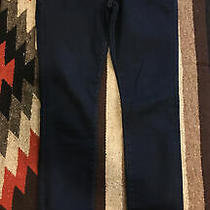 Express High Rise Denim Ankle Legging Jeans Size 2l/2l Dark Blue Good Cond. Photo