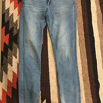 Express High Rise Denim Ankle Legging Jeans Size 2l/2l Medium Blue Good Cond. Photo