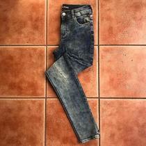 Express High Rise Legging Jeans Size 2 Distressed Acid Wash Skinny Leg Women's Photo
