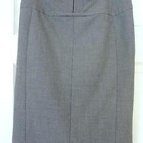 Express High Waist Pencil Skirt Fully Lined Size 8 Grey Euc Corset Waist 60 Photo
