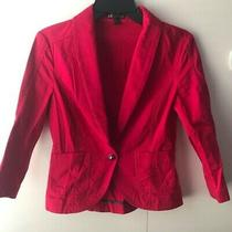 Express Hot Pink Blazer Size 6 Photo