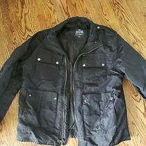 Express Jacket Spring Fall Size Large L Black Men's Used Nice Offer Photo
