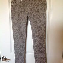 Express Jean Legging Cheetah Print Sz 6 Photo