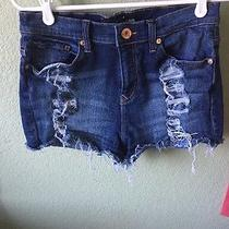 Express Jean Shorts Size 4 Photo