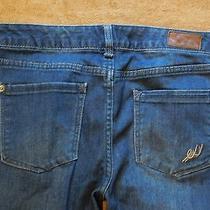 Express Jeans 8x30 Straight Leg Stretch Curvy Fit Photo
