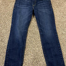 Express Jeans Classic Fit Kingston Tapered Leg Jeans. Size 34x32. 100% Cotton.  Photo