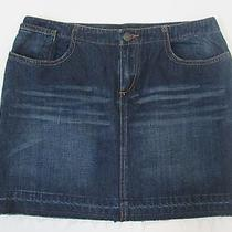 Express Jeans Denim Jean Skirt Size 7/8 Nice Photo