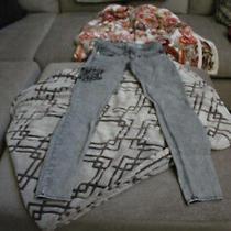 Express Jeans Leggings Zelda Slim Fit Ultra Low Rise Size 4 Photo