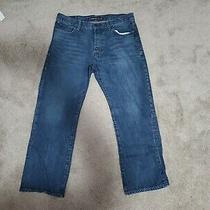 Express Jeans Men's 36x32 Kingston Classic Fit Straight Leg Button Zip - 39 X 30 Photo