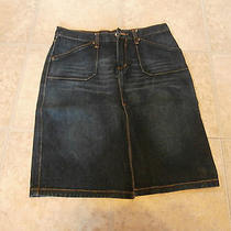 Express Jeans Skirt Size 5/6 Excellent Condition  Photo
