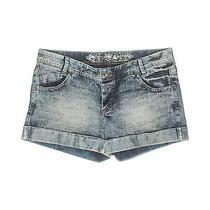 Express Jeans Women Blue Denim Shorts 12 Photo