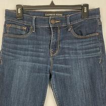 Express Jeans Womens Legging Mid Rise Stretch Denim Blue Size 6 Photo