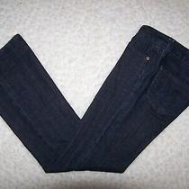 Express Jeans Womens Stella Bootcut Blue Denim Jeans 6r Stretch 32 1/2 Inseam  Photo