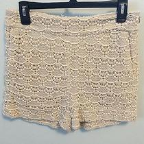 Express Juniors Crochet Lace Shorts Size 8 Photo