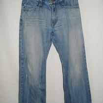 Express 'King of Prides' Boot Cut Jeans  Sz 34  X  28 88 Short Photo