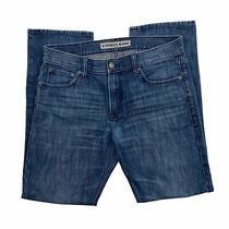 Express Kingston Classic Fit Straight Leg Jeans Men's 32 X 32 (35 X 32) Photo