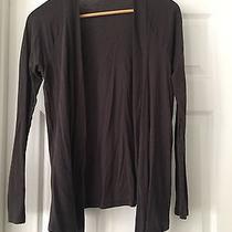 Express Knit Flyaway Cardigan Sweater Gray Women's M Photo