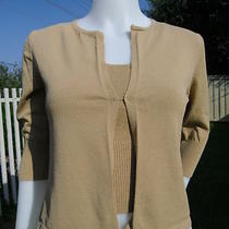 Express Knit Sweater and Camisole  Set Size S 4 6 T89 Photo