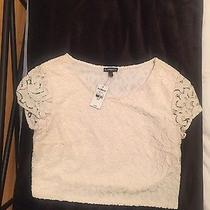 Express Lace Crop Top Size S Photo