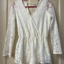 Express  Lace Romper  Photo