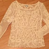 Express Lace Top / Blouse Xs Photo