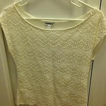 Express Lace Top Xs Photo