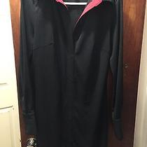 Express Ladies Business Collar Black and Red Dress Size 9/10  Photo