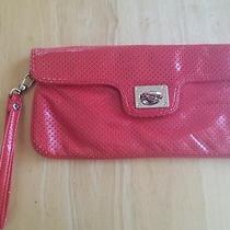 Express Large Wristlet Red Color Fits Eveything for Night Out  Photo