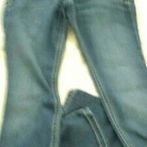 Express Leggings Sz 6s Low-Rise Straight Jeans Dark Wash 90094 Photo