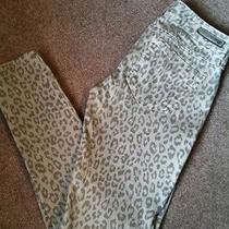 Express Leopard Jeans Us Size 4 Gently Worn Photo