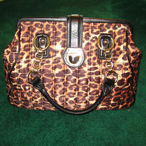 Express Leopard Print Bag Purse Photo