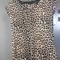 Express Leopard Print Blouse Photo
