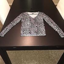 Express Leopard Print Sweater Photo