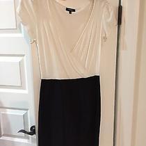 Express Little Black & White Dress Size Xs Photo