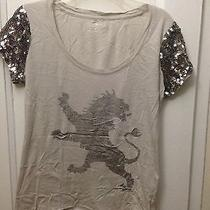 Express Logo Top With Sequin Photo