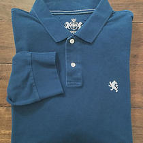 Express Long Sleeve Polo Rugby Shirt Men's Size Xl  Photo