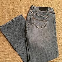 Express Low Rise Flare Jeans 7/8 Photo