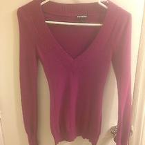 Express Magenta Sweater Xs Photo