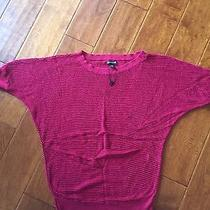 Express Maroon Sweater Size S Photo