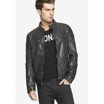 Express Men Leather Jacket Photo