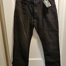 Express Men's Black Denim Jeans - Kingston Straight Leg - Classic Fit Photo