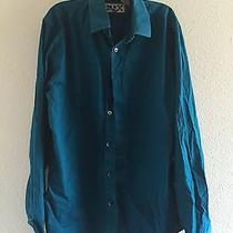 Express Men's Dress Shirt Fitted Size M (15-15 1/2) Photo