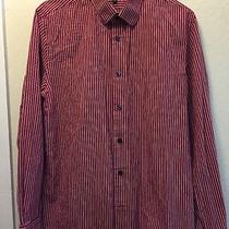 Express Men's Dress Shirt Modern Fit Size M Photo