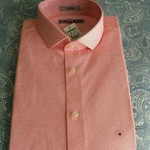Express Men's Fitted Dress Shirt Size M Photo