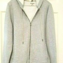 Express Men's Gray Front Zip Hoodie               Size M Photo